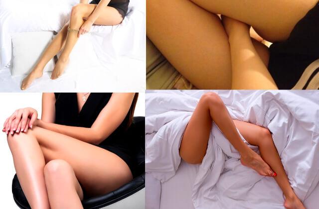 スカート+脚の色気写メの撮り方