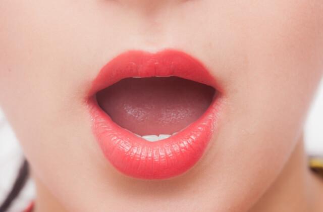 フェラをしている口の画像