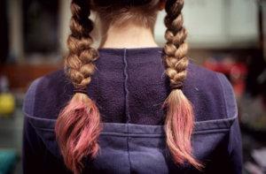 超ロングヘア・三つ編みヘア