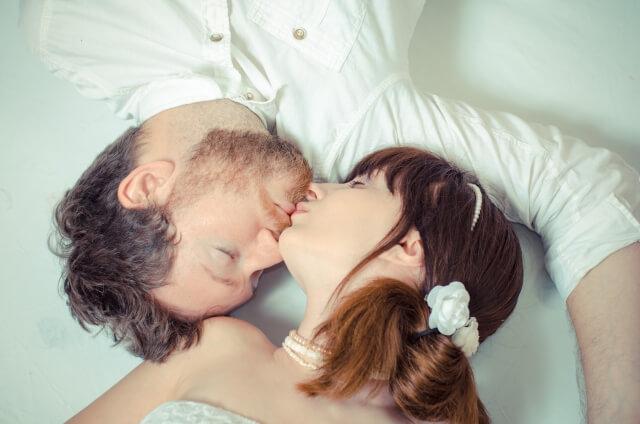 プレイ中のキスは重要というイメージ画像
