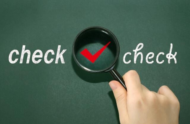 講習をする内容のチェック項目を説明する画像