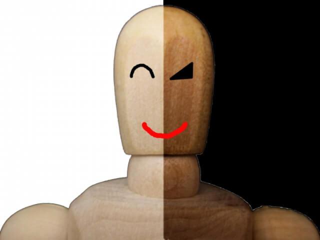 連絡先交換をして悪い事を考えている人の画像