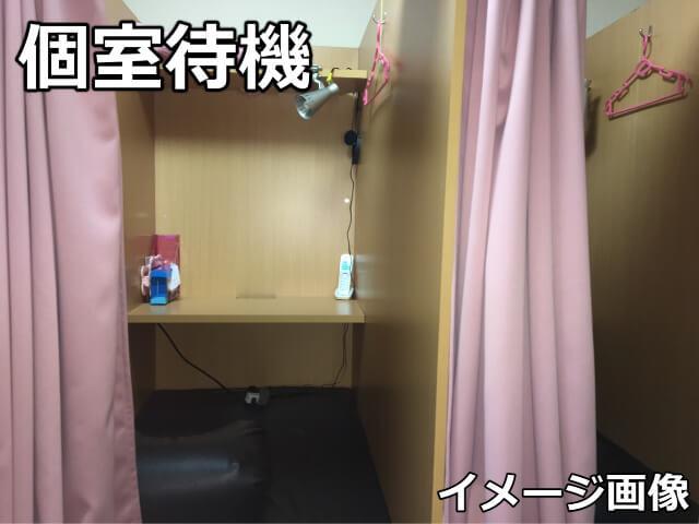 個室待機のイメージ画像