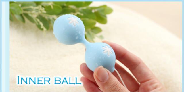 膣のトレーニングに使用するインナーボールの画像