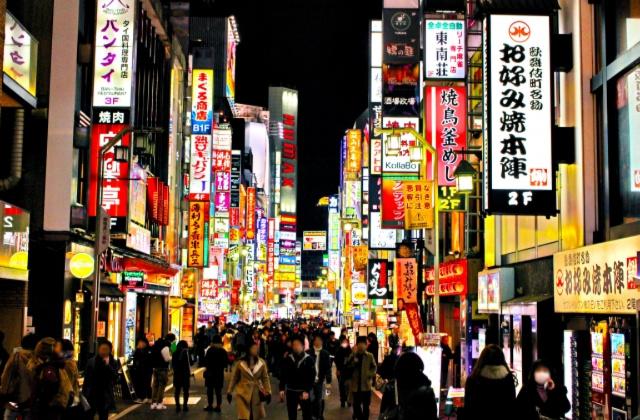新宿の風俗街